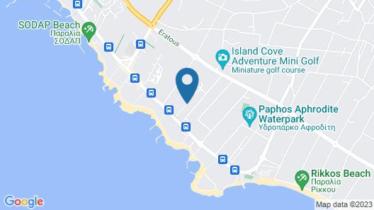 Aliathon Aegean Map