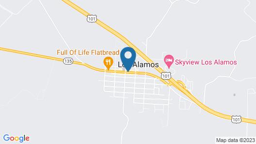 Alamo Motel Map