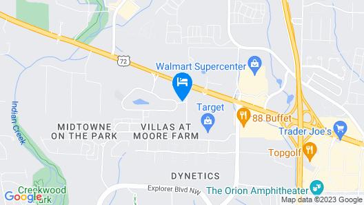 Residence Inn by Marriott Huntsville Map
