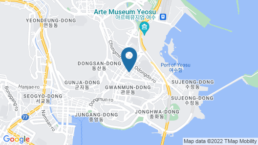 Backpackers in Yeosu - Hostel Map