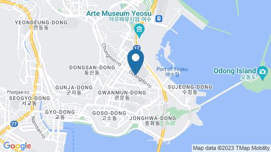 Matthieu Yeosu Map