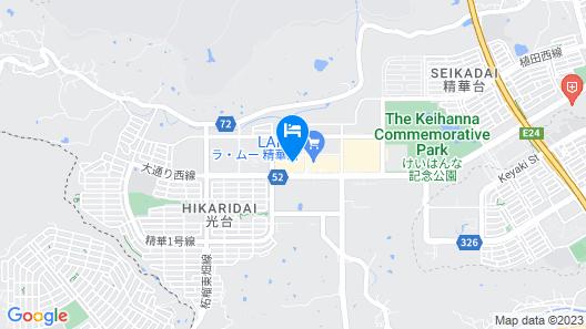 Keihanna Plaza Hotel Map