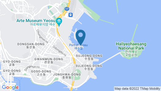 Yeosu Venezia Hotel & Resort Map