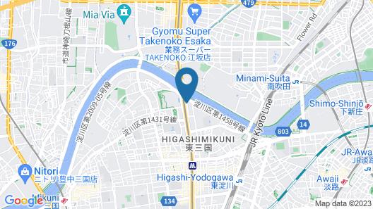 Hotel Beni Higashimikuni - Adults Only Map