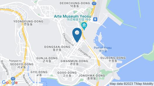 Yeosu Trip Pension Map