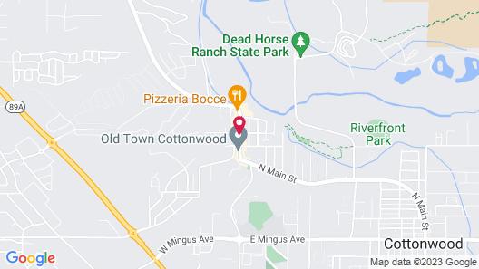 Cottonwood Hotel Map
