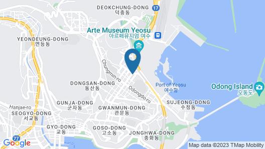 24 Guesthouse Yeosu Map