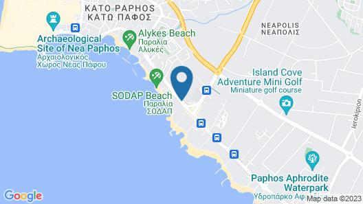 Amphora Hotel & Suites Map