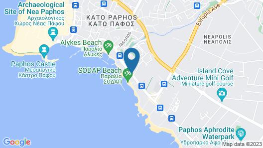 Amavi Hotel Map