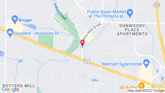 Hampton Inn Huntsville/Village of Providence, AL Map