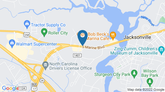 Best Rest Inn Map