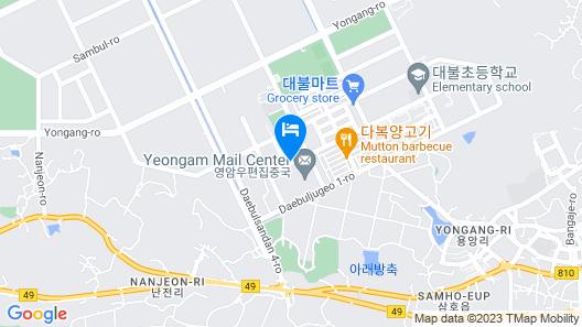 Samho Hotel Map