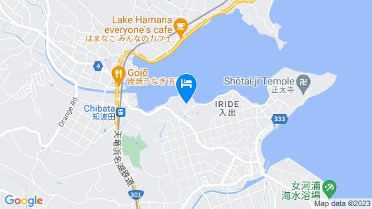 The Villa Hamanako Map