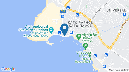 Paphinia Seaview Apartments Map