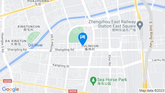 Courtyard by Marriott Zhengzhou East Map