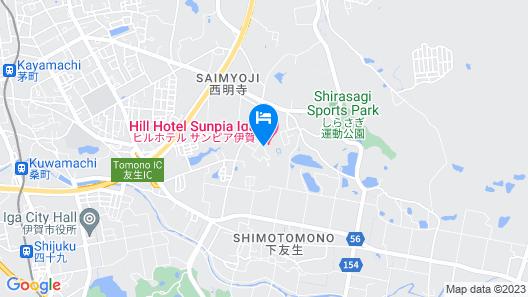 HILL HOTEL SUNPIA IGA Map