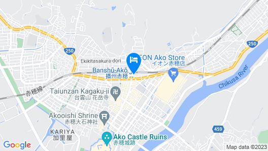 Toyoko Inn Banshu Ako Ekimae Map