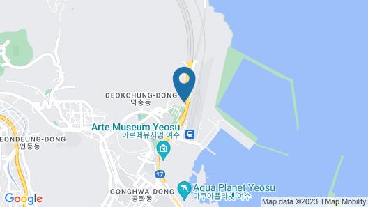 Yeosu Yeosu Pension Map