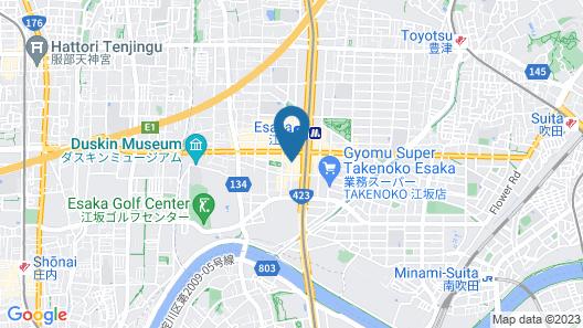 HOTEL LiVEMAX Esaka Map