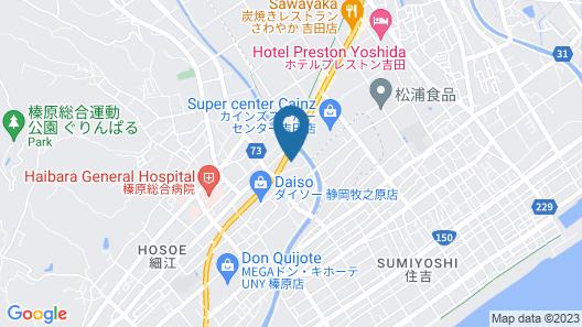 Family Lodge Hatagoya Makinohara Map