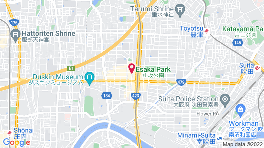 Shin-Osaka Esaka Tokyu REI HOTEL Map