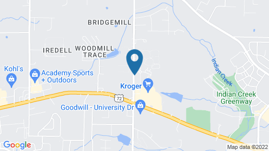 Holiday Inn Express Hotel & Suites Huntsville West - Research Pk, an IHG Hotel Map