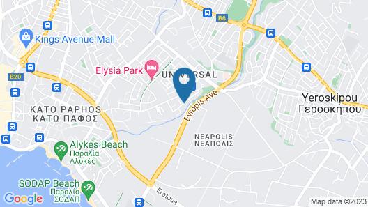 villa kristia Map
