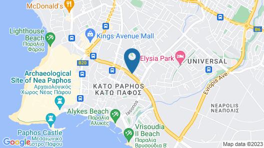 Paphiessa Hotel Map