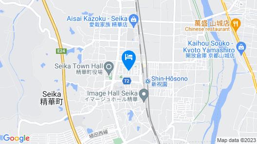 Abbey Road Inn Seika Map