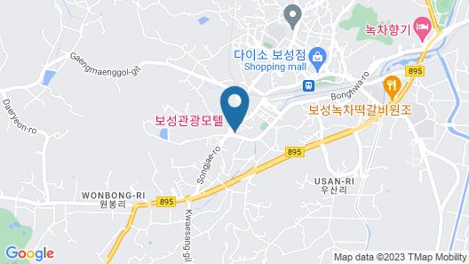 Boseong Tourist Hotel Map