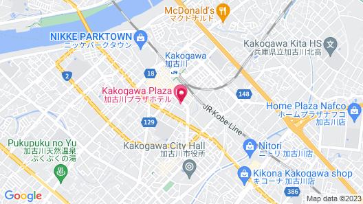 Kakogawa Plaza Hotel Map