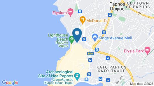 Paradise Cove Luxurious Beach Villas Map