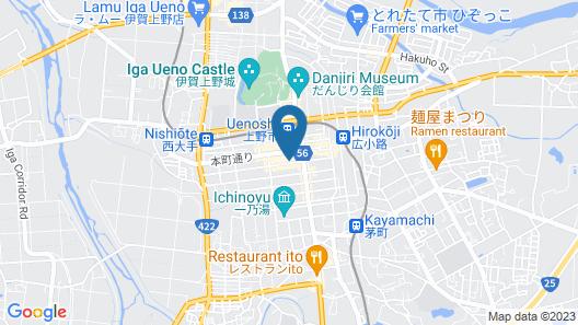Iga Ueno City Hotel Map