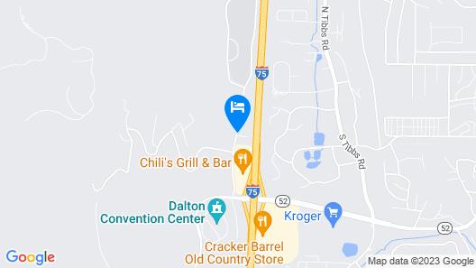 Courtyard Dalton Map