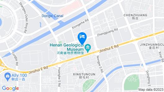 Sheraton Grand Zhengzhou Hotel Map