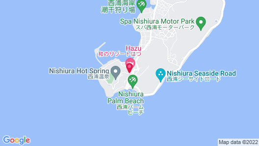 Wano Resort Hazu Map