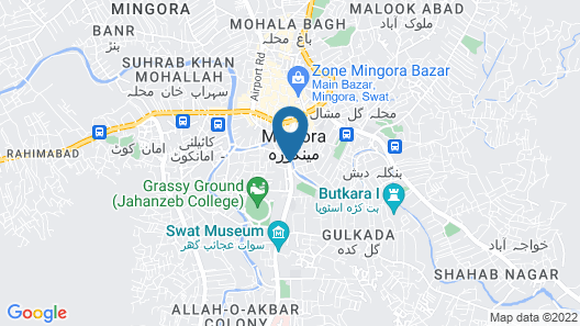 Swat continental hotel Map