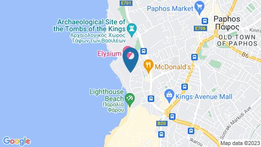 Kefalos Beach Tourist Village Map