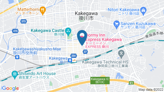 Dormy Inn Express Kakegawa Natural Hot Spring Map