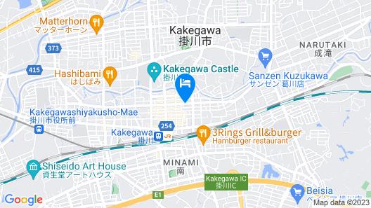 Dormy Inn Express Kakegawa Natural Hot Spring Map