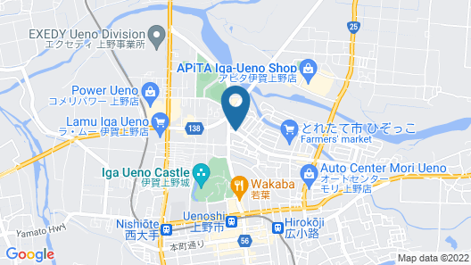 Ueno Frex Hotel Map