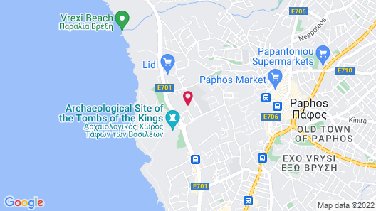 Avlida Hotel Map