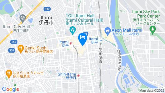 Itami City Hotel Map