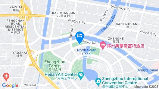 Novotel Zhengzhou Convention Centre Map