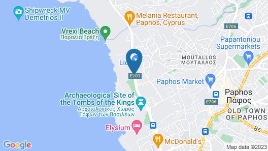 Venus Beach Hotel Map