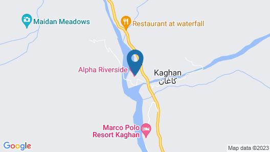 River Ranch Hotel Kaghan Map