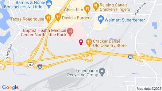 Residence Inn by Marriott North Little Rock Map