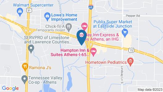 Sleep Inn Athens I-65 Map