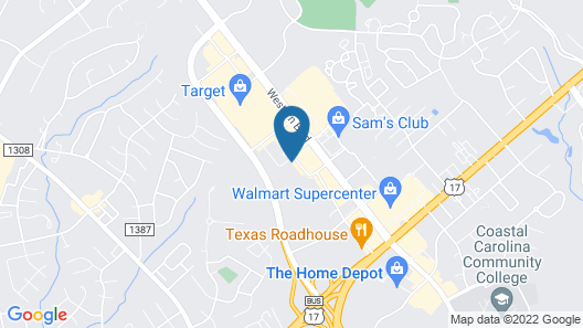 Home2 Suites by Hilton Jacksonville, NC Map