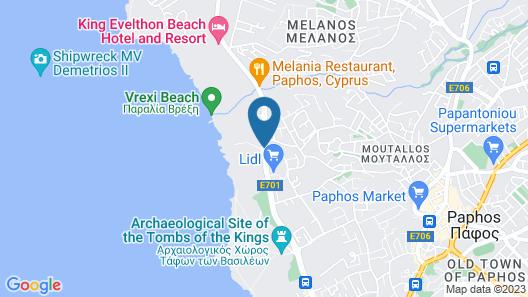 Capital Coast Resort & Spa Map